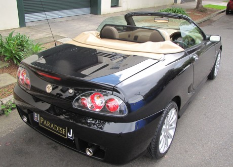 2004 MG TF 160 Anniversary