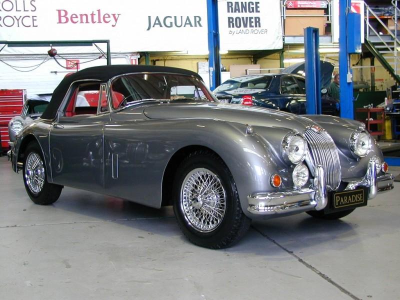1960 Jaguar Xk150 Drop Head Paradise Garage Service
