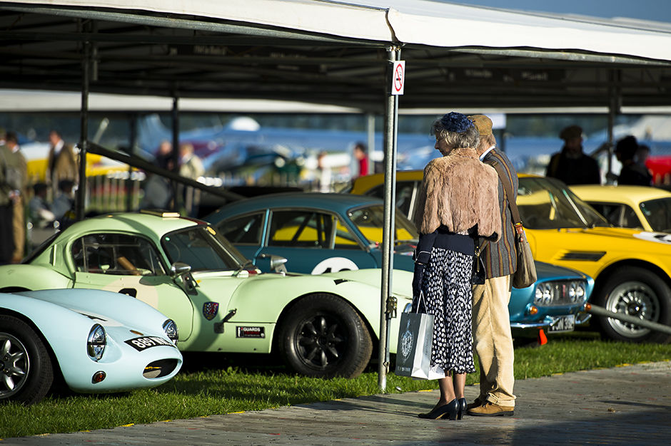 The 2014 Goodwood Revival.