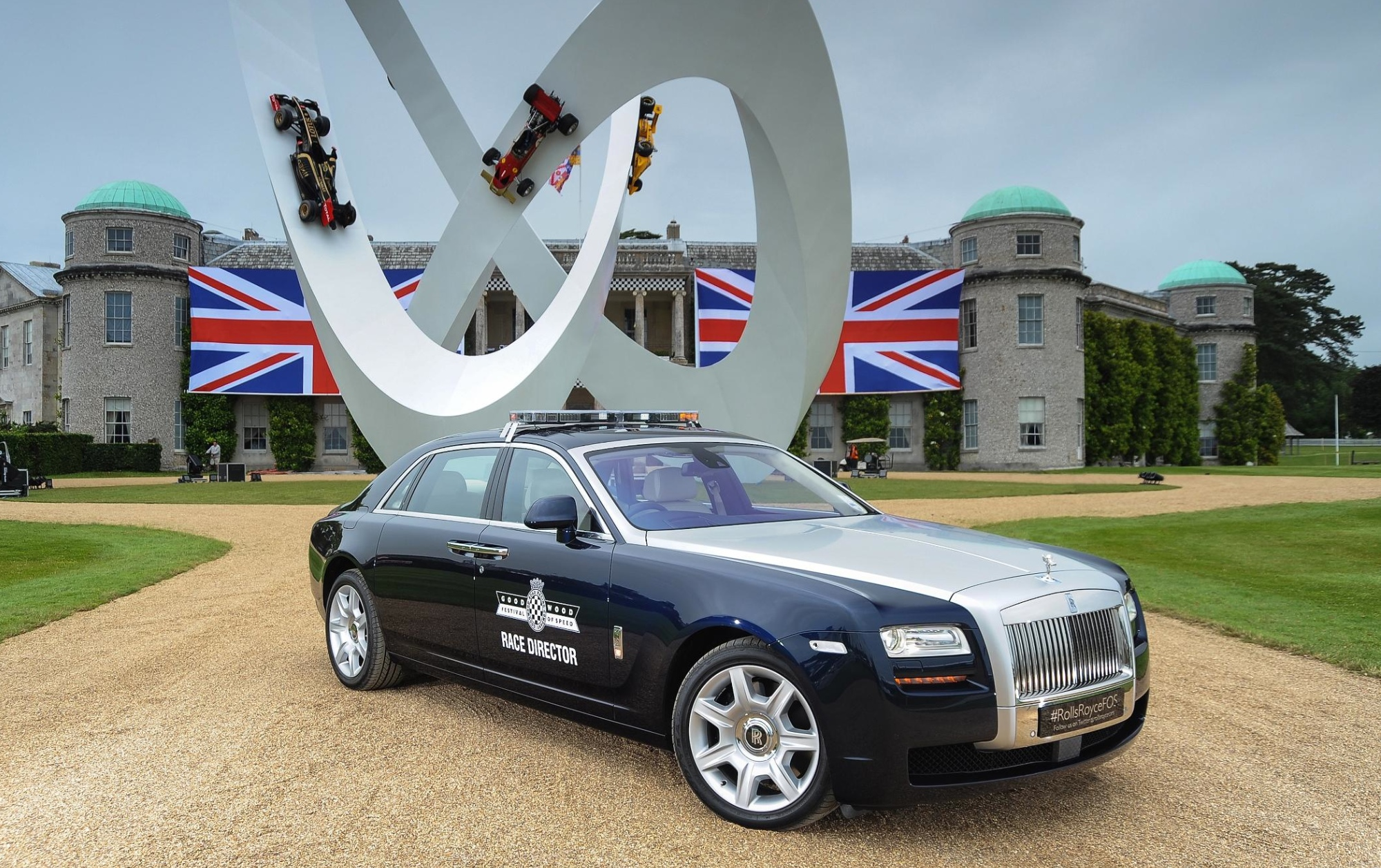 Rolls royce at goodwood paradise garage service and for Rolls royce auto